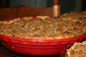 Dutch apple pie 1