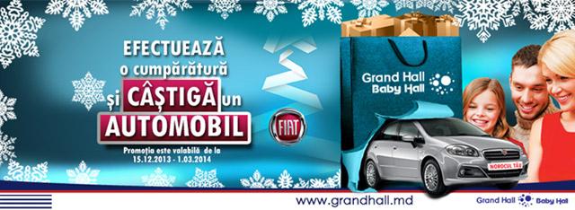 Grand Hall Castiga un automobil Promotie de iarna 2013