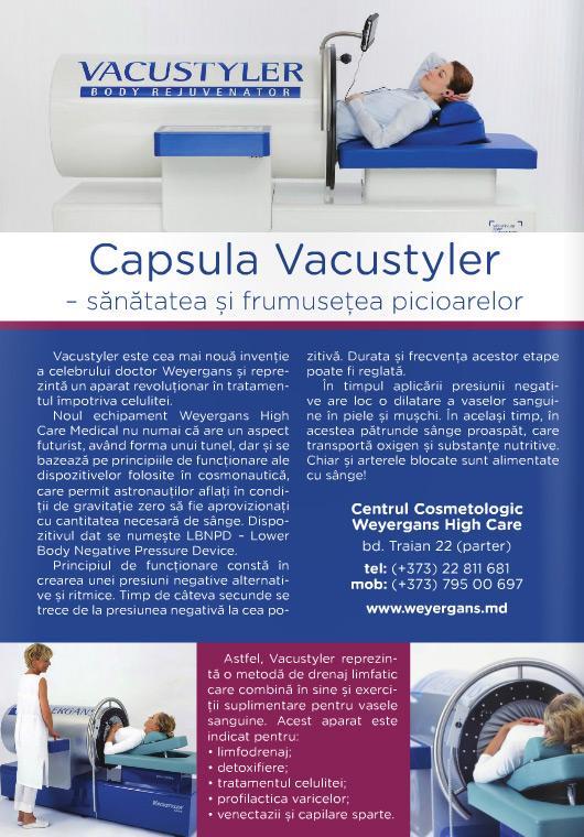 Capsula Vacustyler Sanatatea si frumusetea picioarelor