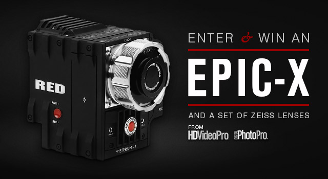 Win a RED EPIC in HDVideoPro's Pros of the Future contest
