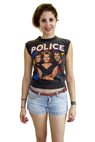 The Police Sleeveless Sweatshirt