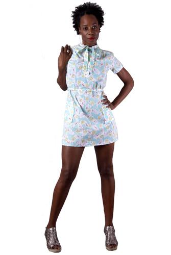 Pastel Dream Mini Dress