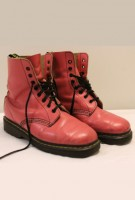 Pink Doc Marten Boots