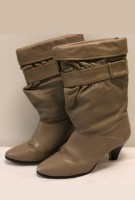Tan Slouch Boots