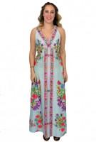 Flowery Sweetheart Maxi Dress