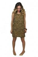 Meow Leopard Tank Dress