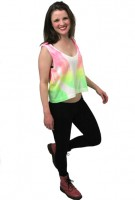 Tie Dyed Neon Tank