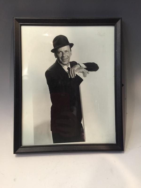 Frank Sinatra Framed Promo Photo – East Village Vintage Collective