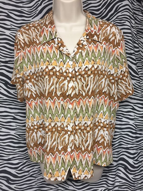 Alfred Dunner Blouse East Village Vintage Collective