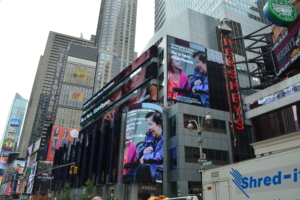 The Reeve Foundation lights up Times Square