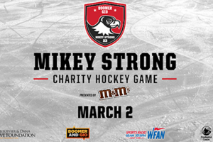 Join me for the Fourth Annual Mikey Strong Charity Hockey Game