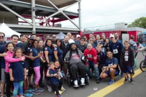 A message from Eric LeGrand: You are getting us closer to the end zone every day