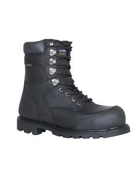 Titanium Leather Boot