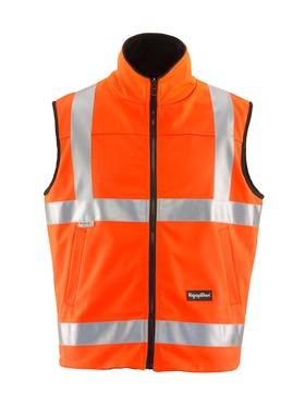 HiVis Reversible Softshell Vest