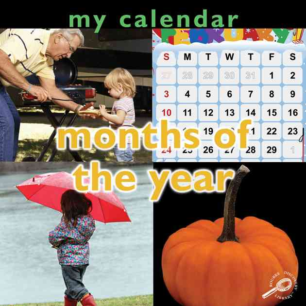 My Calendar: Months of The Year
