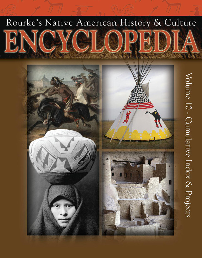 Native American Encyclopedia Cumulative Index & Projects