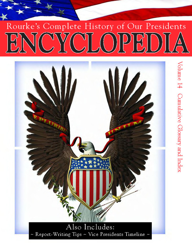 President Encyclopedia Index, Glossary, Vice President Info