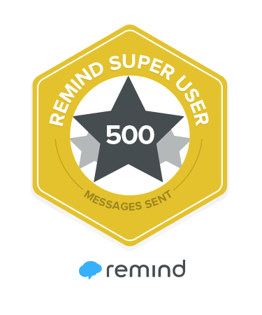 Remind Badge: Super User