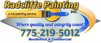 Website for Radcliffe Painting, Inc.