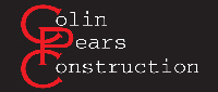 Website for Colin Pears Construction