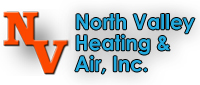 Website for North Valley Heating & Air Conditioning
