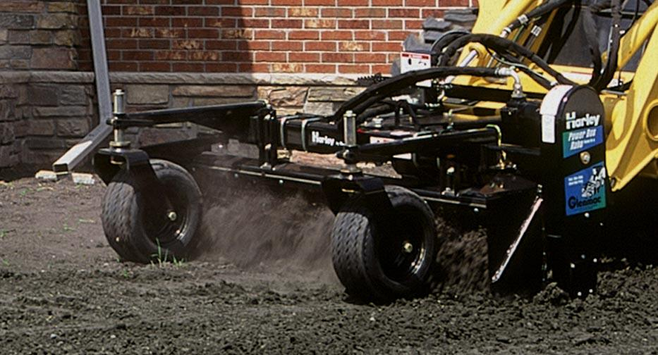 harley rake attachment skid steer equipment rentals in plymouth