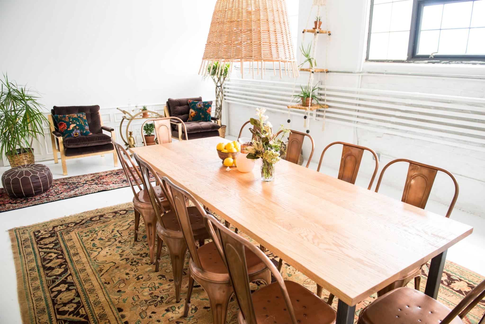 Bk Dining Table Patina
