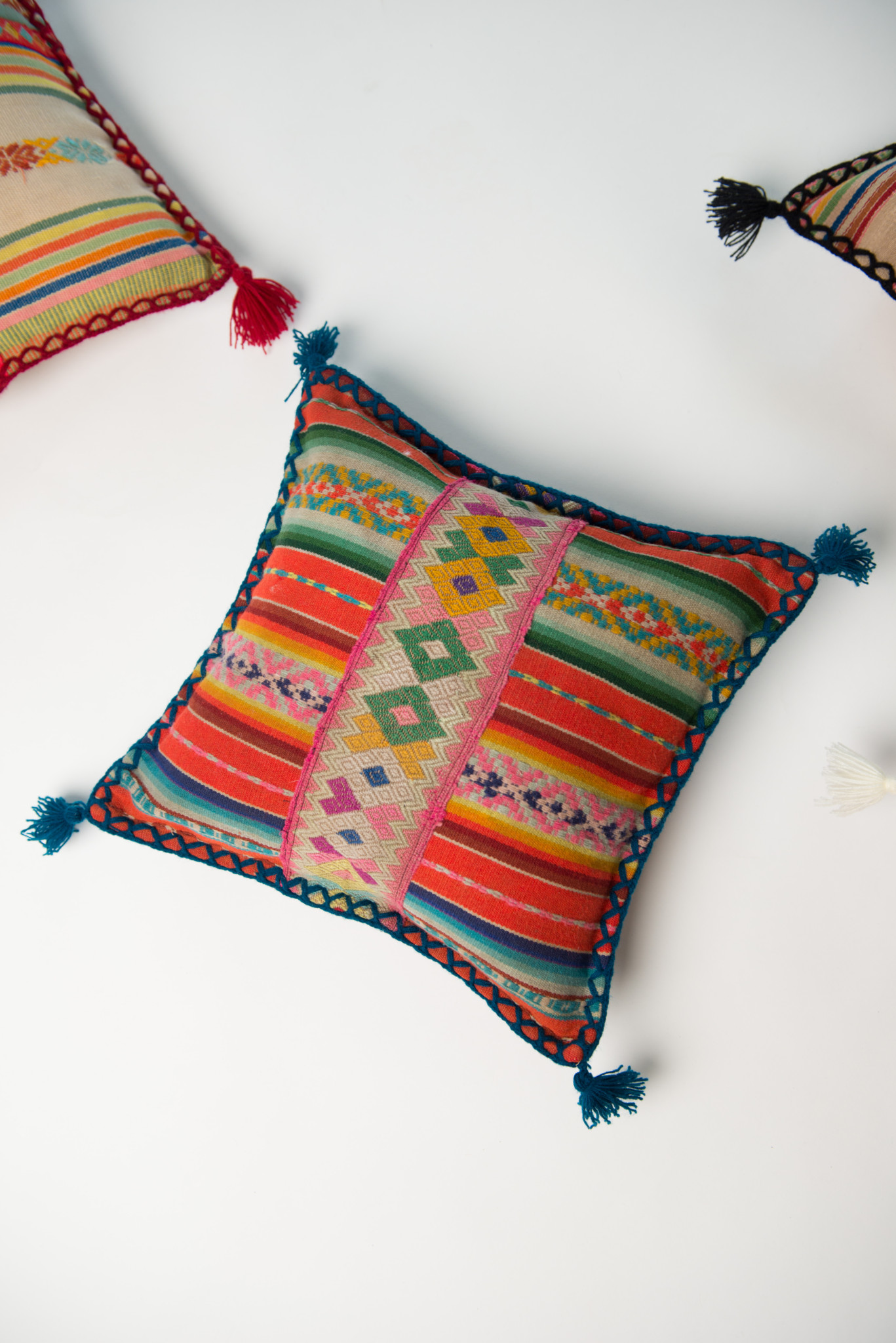 Peruvian Pillow Small Patina