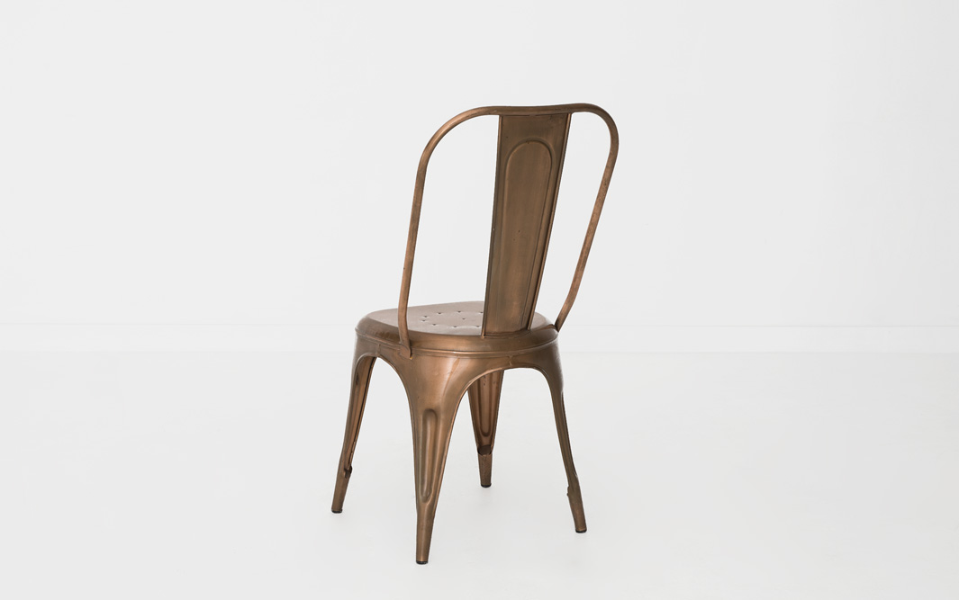 Copper Marais ChairCopper Marais Chair   Patina. Marais A Chair. Home Design Ideas