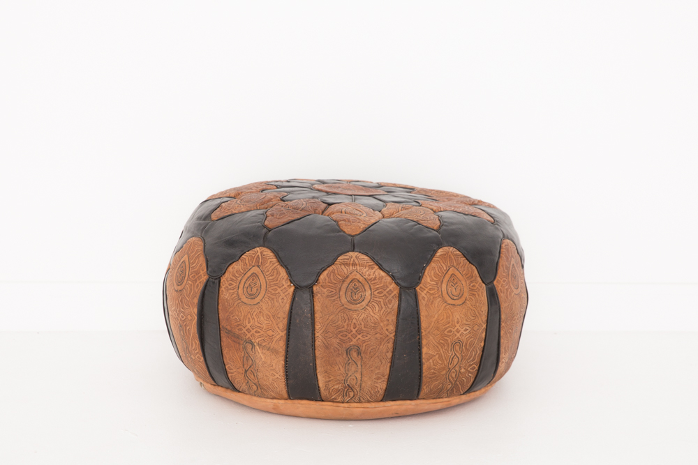 llama pouf patina. Black Bedroom Furniture Sets. Home Design Ideas