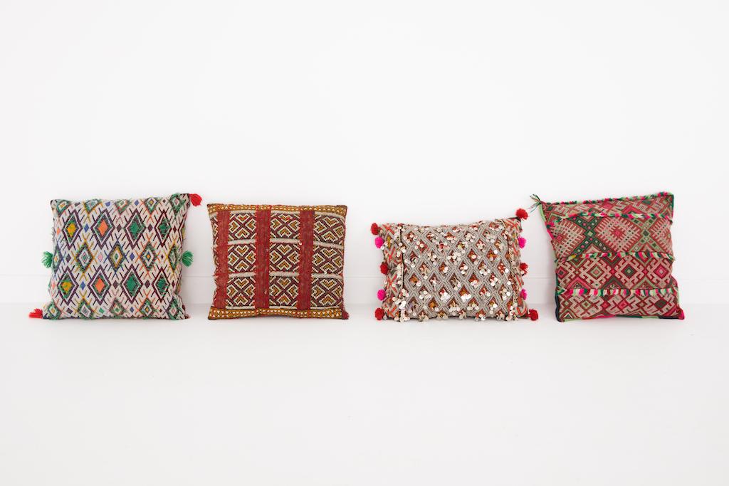 Moroccan Pillow Patina