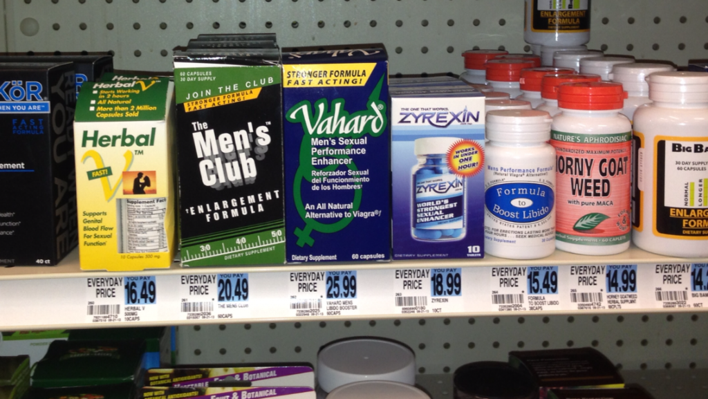 Sex stamina pills in gas stations