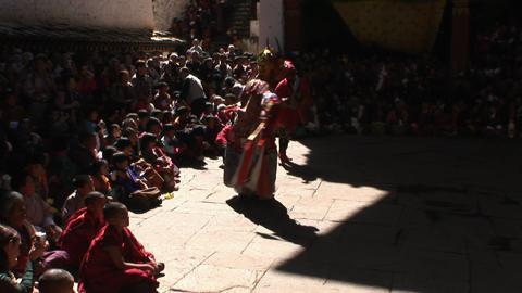Shinjey Yab Yum, Paro Tsechu, Day One: Inside the Dzong [Close shot]
