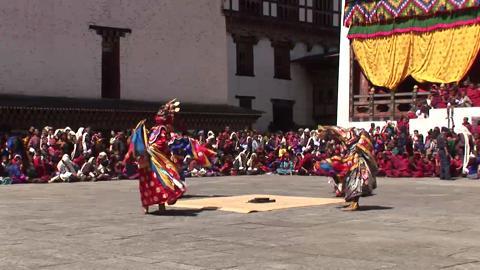 Mang Cham, Thimphu Drubchen: Day Two, Main Day [Close shot]