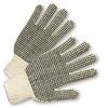 9601   -   string knit, PVC dots on one side, dozen