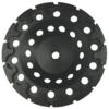 "T-SEG-7   -   7"", T-segment, turbo cup wheel"