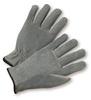 7436   -   cowhide driver gloves, leather, shirred back, dozen