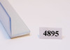 "4895   -   Plastic termination strips, 1/2"" x 1/2"" x 5', double sided tape"