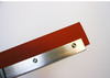 "SD348   -   48"" Flat squeegee, zinc plated, gray or red"