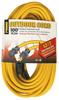 EC511835   -   12/3,100 lf, yellow, extension cord, w/Primelight, SJTW