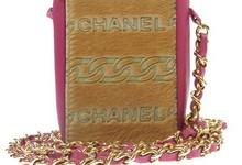Auth Chanel Chain Shoulder Bag Vintage