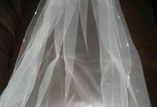 Richard Designs Wedding Veil - Ivory