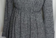 A Pea In The Pod Medium Gray Maternity Dress