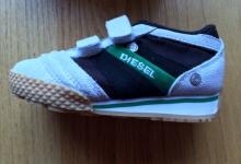 Diesel Children's 'Full Time' Sneakers Size 6.5