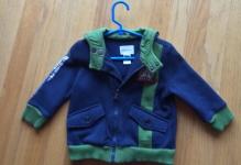 Diesel Infant's  Hoodie - Blue/Green - Size 12 Months