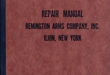 Vintage Repair Manual By Remington Arms Co Ilion New York