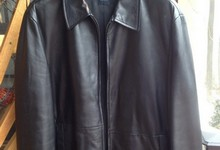 Hugo Boss Men's Leather Jacket