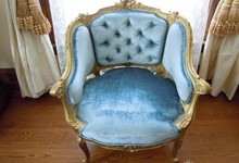 Antique Louis Xv French-style Side Chair
