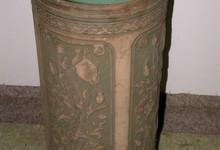 Antique American Art Pottery Umbrella Stand-weller
