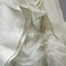 Vera Wang Ivory Organza Draped Bubbled Shredded Panel Wedding Dress